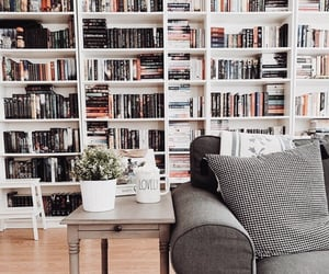 books, goals, and happiness image