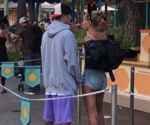 justin bieber, jailey, and hailey bieber image