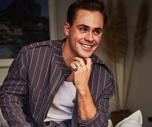 dacre montgomery, stranger things, and actor image