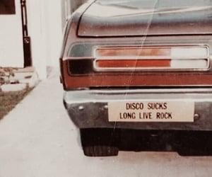 rock, car, and vintage image