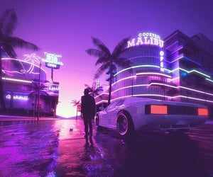 80s, car, and city image