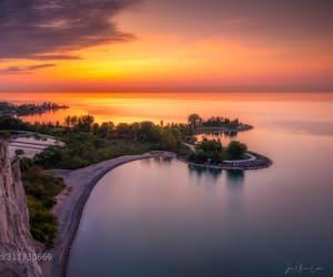 beautiful, lake, and landscapes image