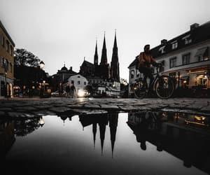 city, uppsala, and sverige image
