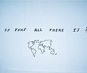 world, map, and quote image