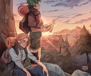 magnus chase, alex fierro, and rick riordan image