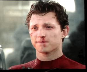 gif, peter parker, and tom holland image