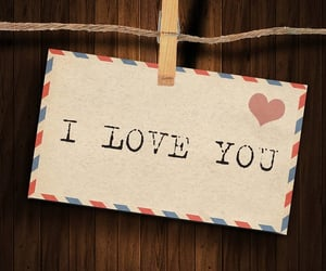 I Love You, love you, and love image