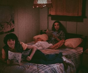 stranger things, couple, and finn wolfhard image