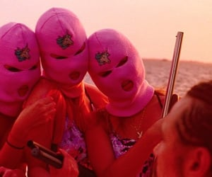 spring breakers and pink image
