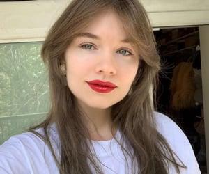 aesthetics, brunette, and closeup image