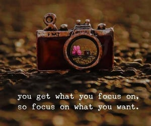 camera, quote, and positive energy image