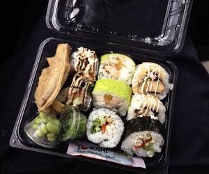 food, sushi, and tumblr image