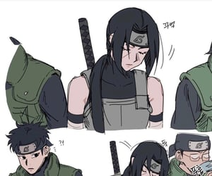 itachi, naruto, and uchiha clan image