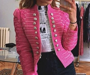 fashion, pink, and looks image