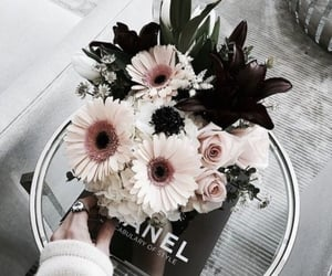 flowers, chanel, and aesthetic image