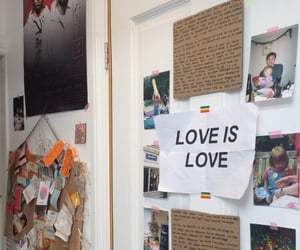 aesthetic, alternative, and love is love image
