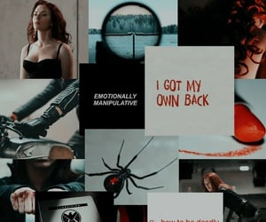 mcu, Avengers, and black widow image