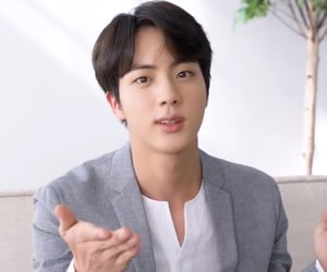 icons, jin, and kpop image