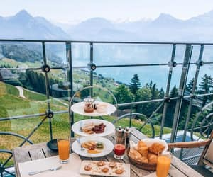 breakfast, food, and switzerland image