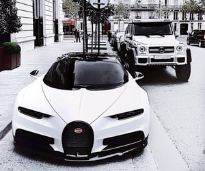 bugatti, cars, and chiron image