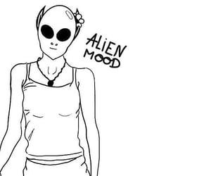 alien, design, and alien art image