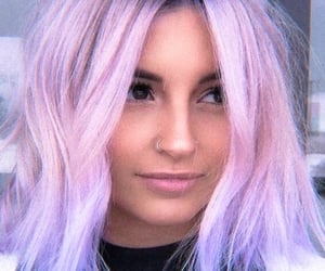 lilac and pink image