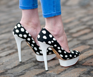 charlotte olympia and high heels image
