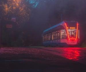 lightning, lights, and metro image