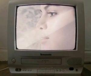 retro, selena gomez, and television image
