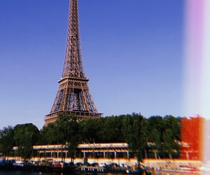 city, eiffel tower, and europe image