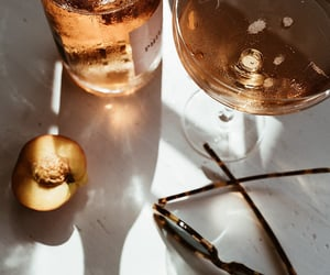 aesthetics, apricot, and beverage image
