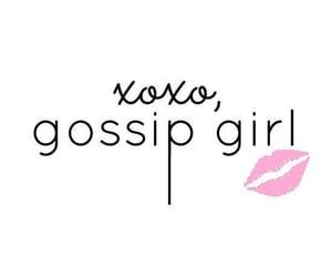 gossip girl, tumblr, and xoxo image