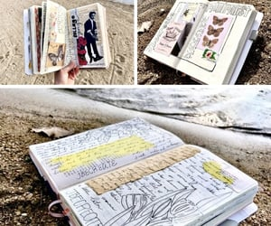 books, collages, and diaries image