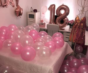balloons, decoration, and party decor image