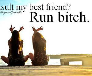 best friend, friendship, and fun image