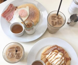 food, aesthetic, and breakfast image