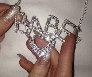 aesthetic, diamond, and babe image