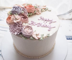 birthday, cake, and birthday cake image