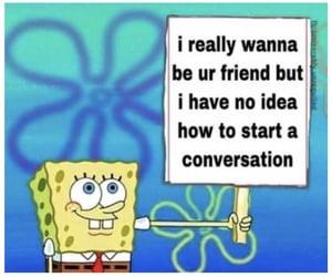 reaction, spongebob, and meme image