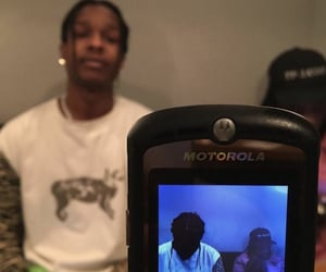 aesthetic, ghetto, and asap rocky image