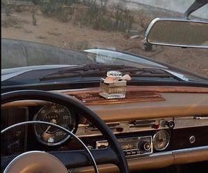 car, vintage, and brown image