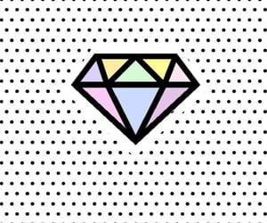 diamond, wallpaper, and kawii image