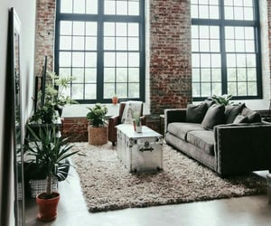 brick wall, design, and home image
