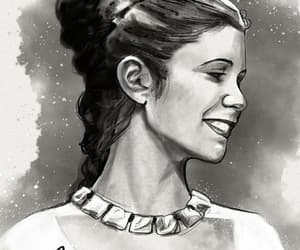 Princess Leia, star wars, and leia image