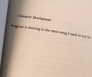 quotes, book, and progress image