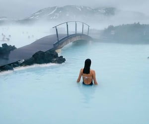 travel, adventure, and iceland image