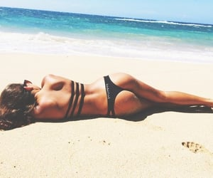 abs, sexy, and beach image