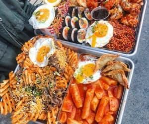 food, korean food, and ramyun image