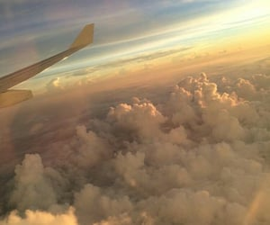 aesthetic, paysage, and sky image