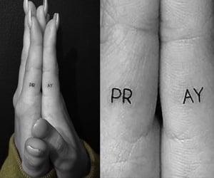 tattoo, pray, and hailey baldwin image